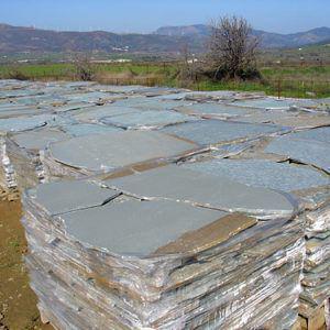Karystos polygon stones